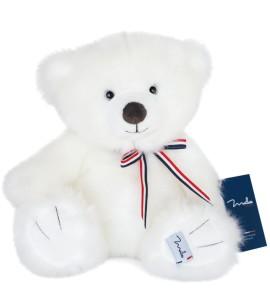 ours francais blanc neige